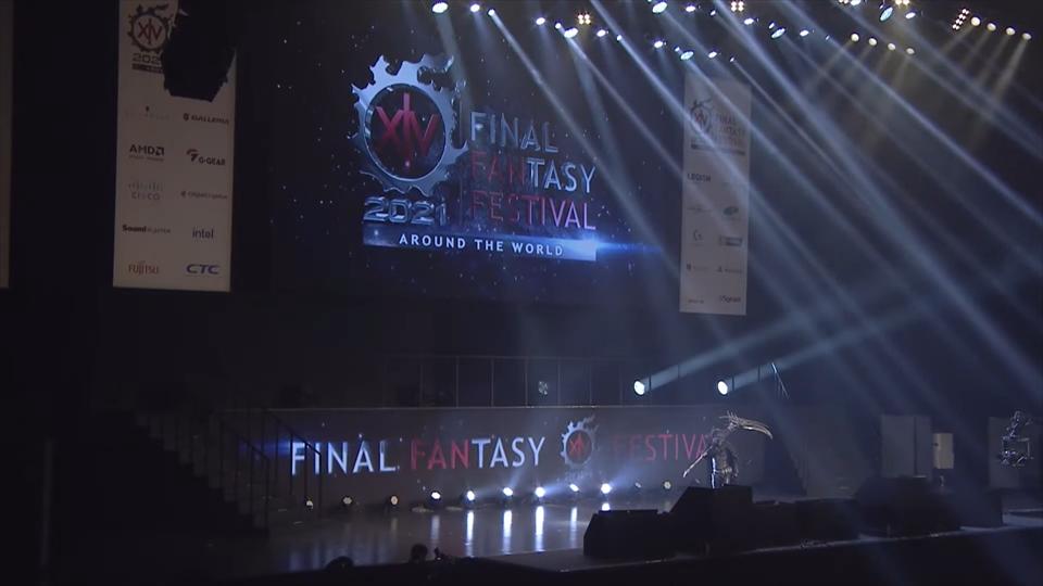 【FF14デジタルファンフェスティバル2021】会場の様子:吉田Pはリーパーの衣装に身を包み登場!【FINAL FANTASY XIV DIGITAL FAN FESTIVAL 2021】