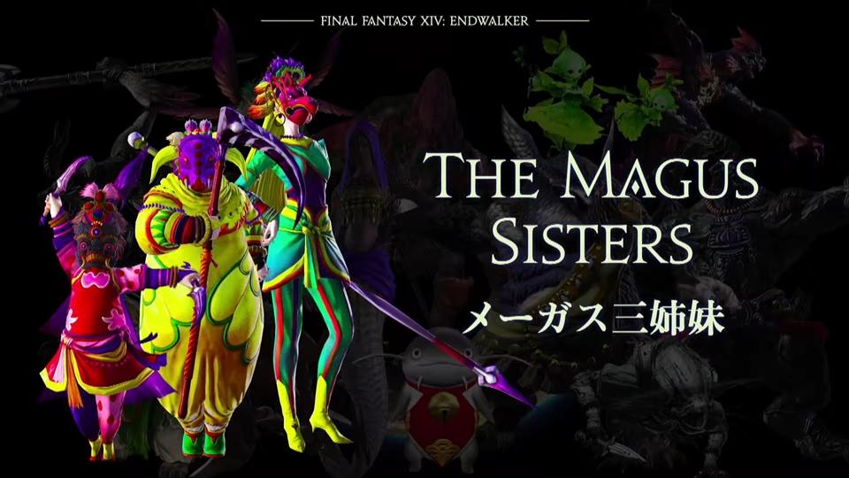 【FF14デジタルファンフェスティバル2021】新たなる出会い:多数の新キャラクターが登場!「メーガス三姉妹」【FINAL FANTASY XIV DIGITAL FAN FESTIVAL 2021】